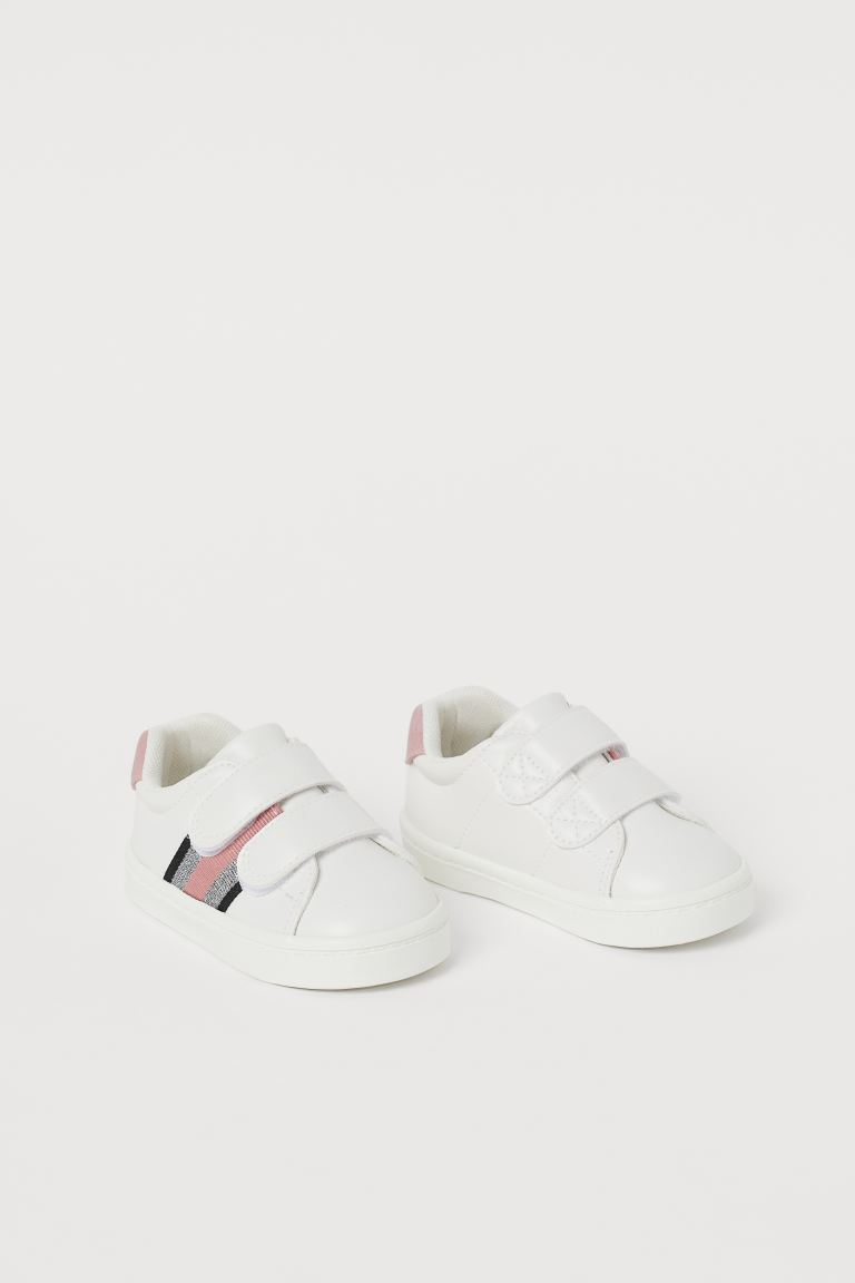 Trainers - White/Glitter - Kids | H&M GB
