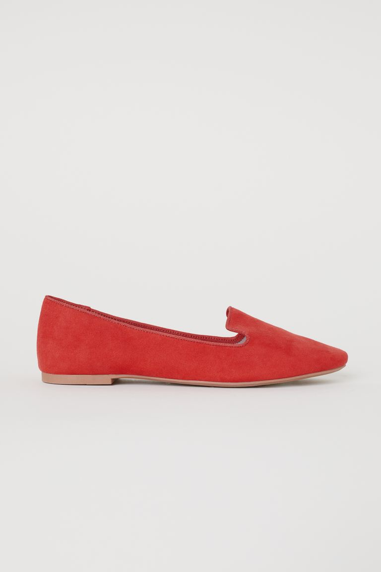 Loafers - Red - Ladies | H&M US