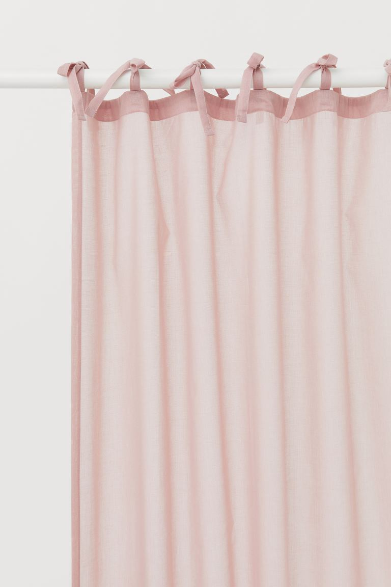 2-pack Curtain Panels - Dusty rose - Home All | H&M US