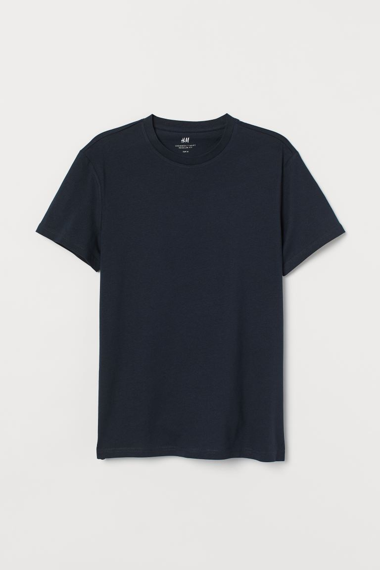 Playera Regular Fit - Azul marino - Men | H&M US