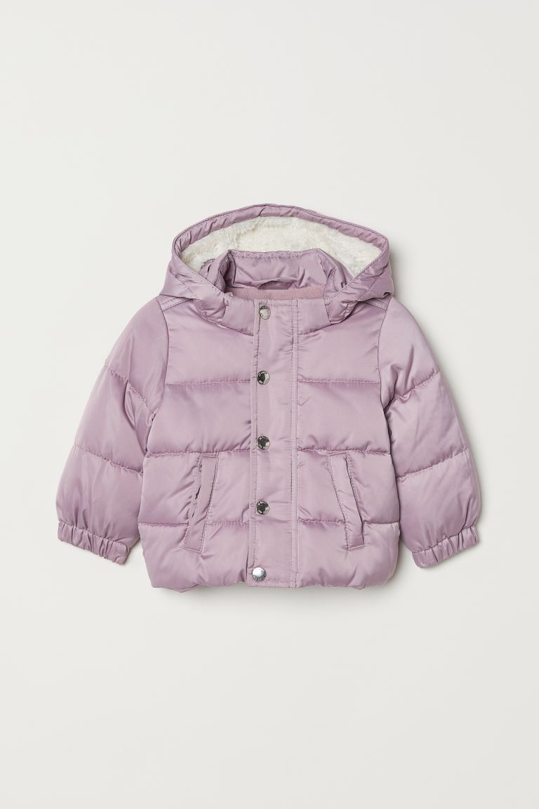 Padded jacket - Light purple -  | H&M