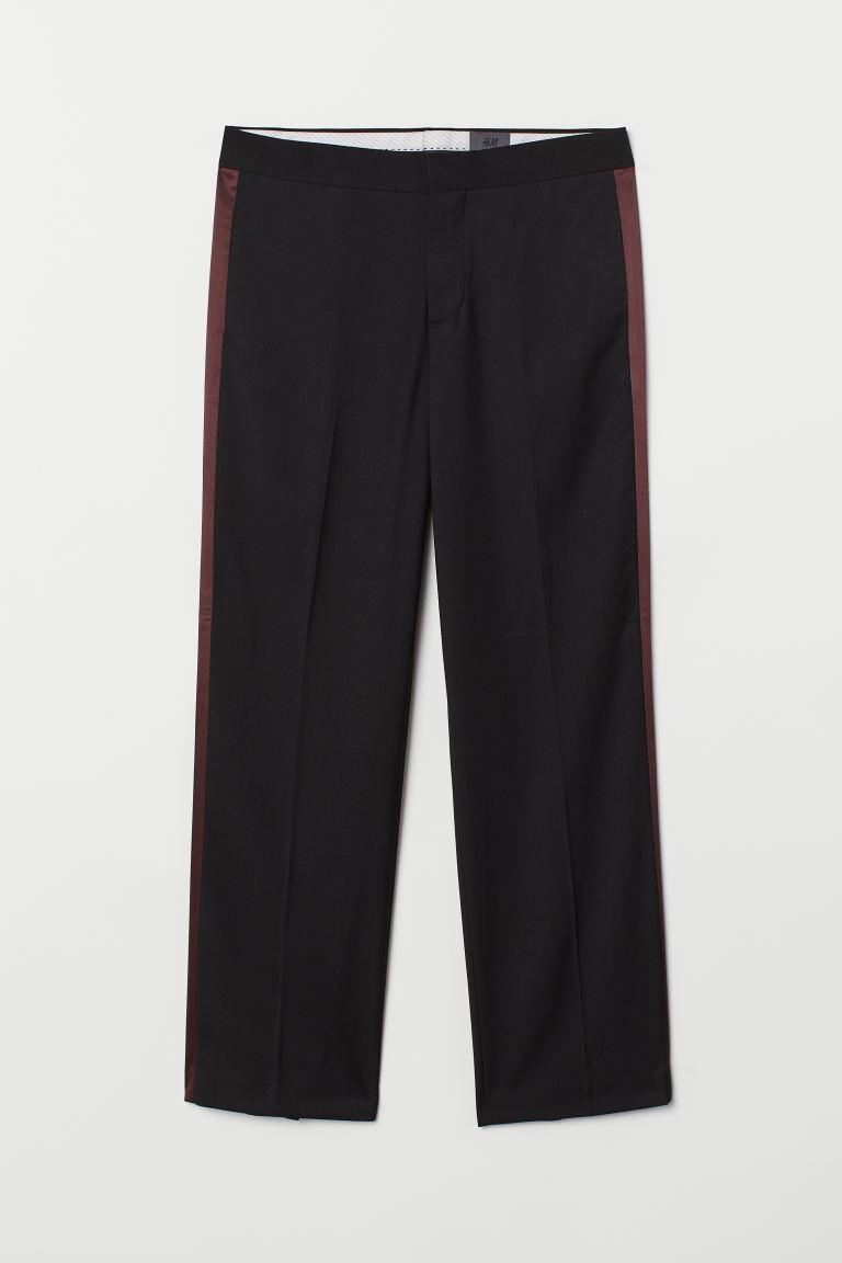 Tuxedo Pants - Black - Men | H&M US