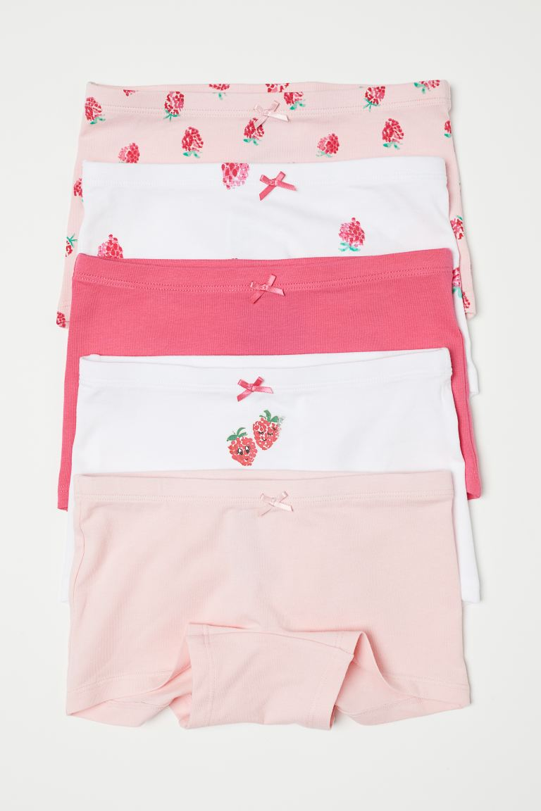 5-pack boxer briefs - Pink/Raspberry - Kids | H&M