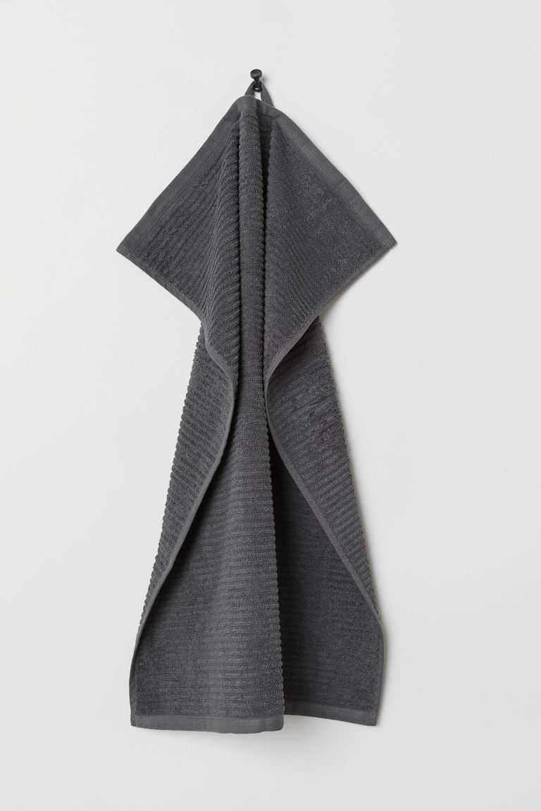 Hand towel - Anthracite grey - Home All | H&M GB