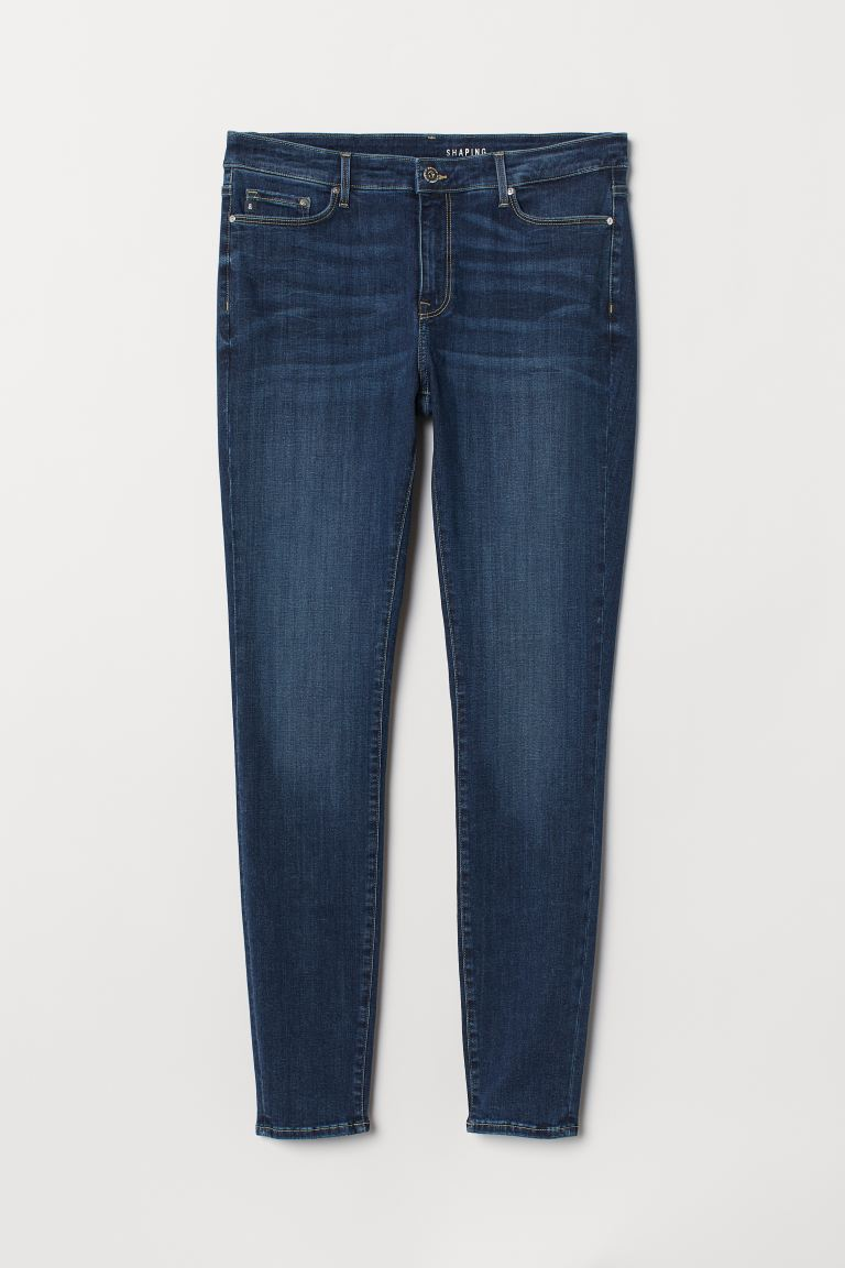 H&M+ Shaping Skinny Jeans - Blu scuro - DONNA | H&M CH