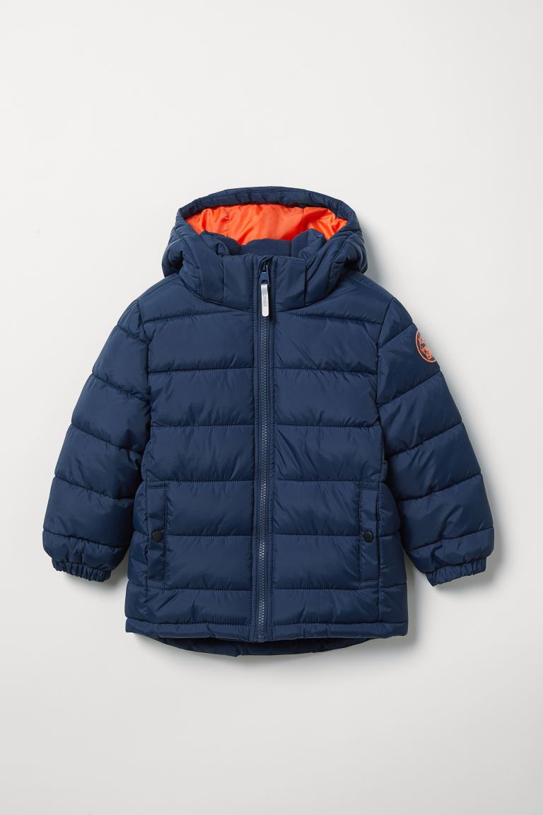 Water-repellent jacket - Dark blue - Kids | H&M IN