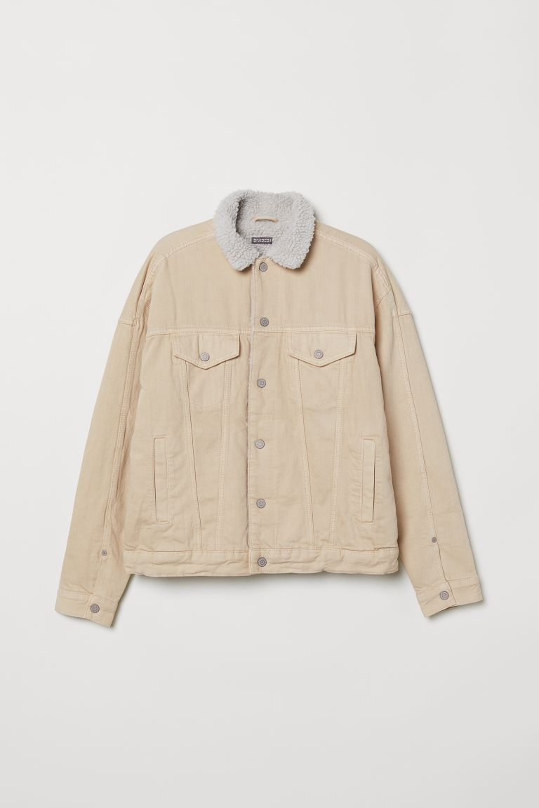 Denim Jacket - Light beige - Men | H&M US
