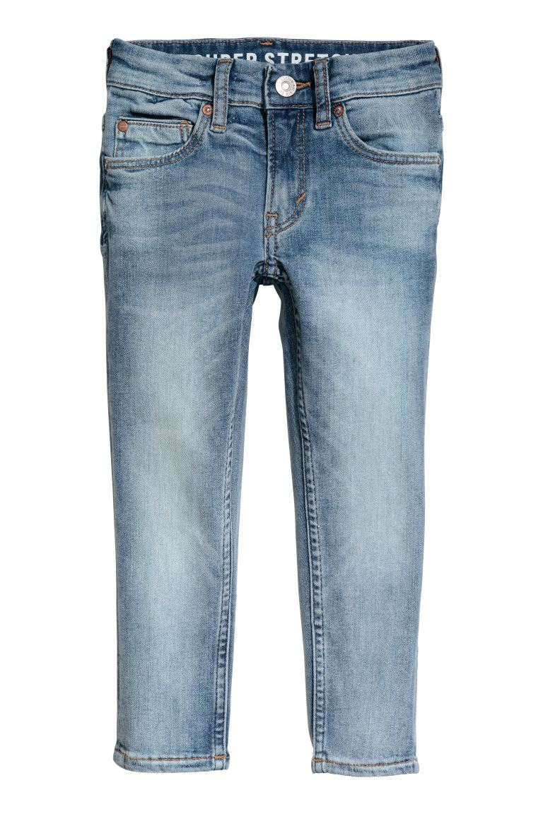 Superstretch Skinny Fit Jeans - Licht denimblauw - KINDEREN | H&M NL