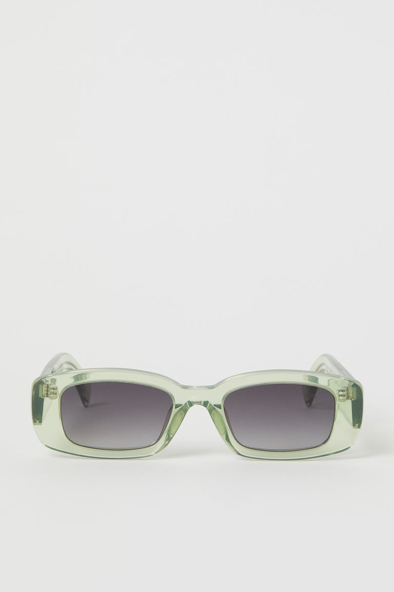 Sunglasses - Light green - Men | H&M CA
