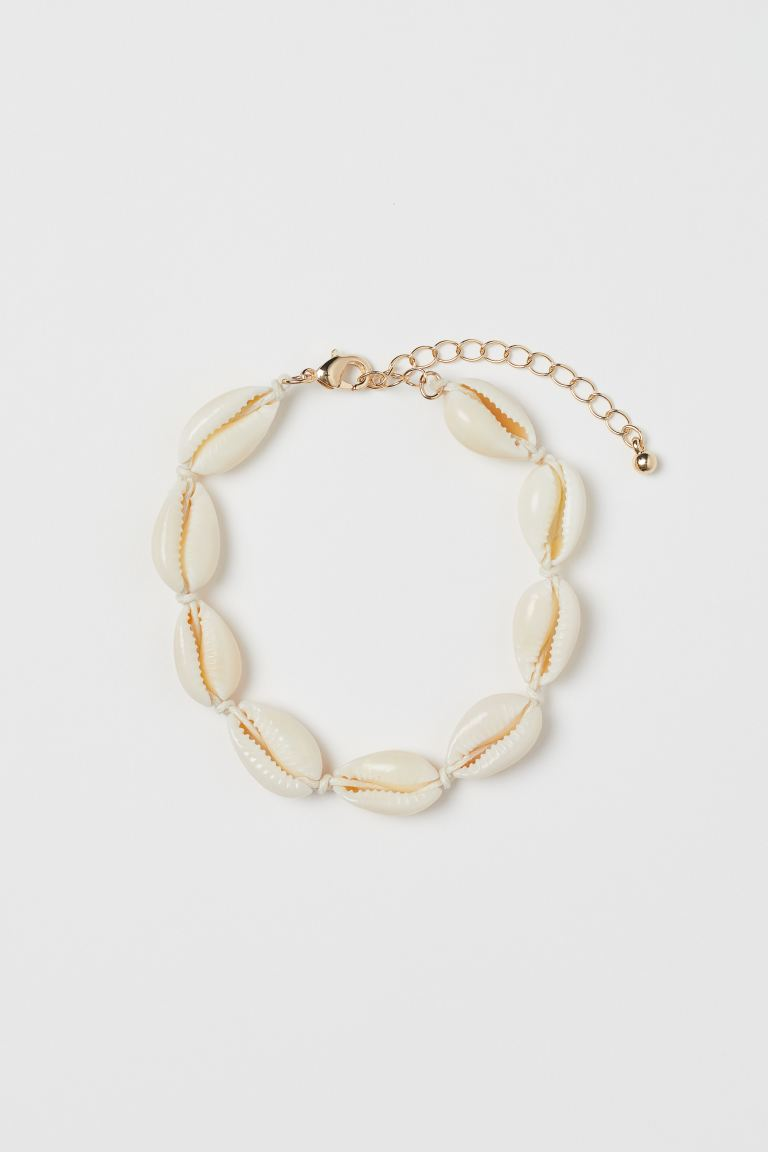 Shell bracelet - White - Ladies | H&M