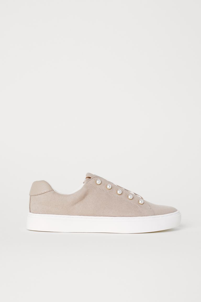 Sneakers - Lichttaupe - DAMES | H&M BE