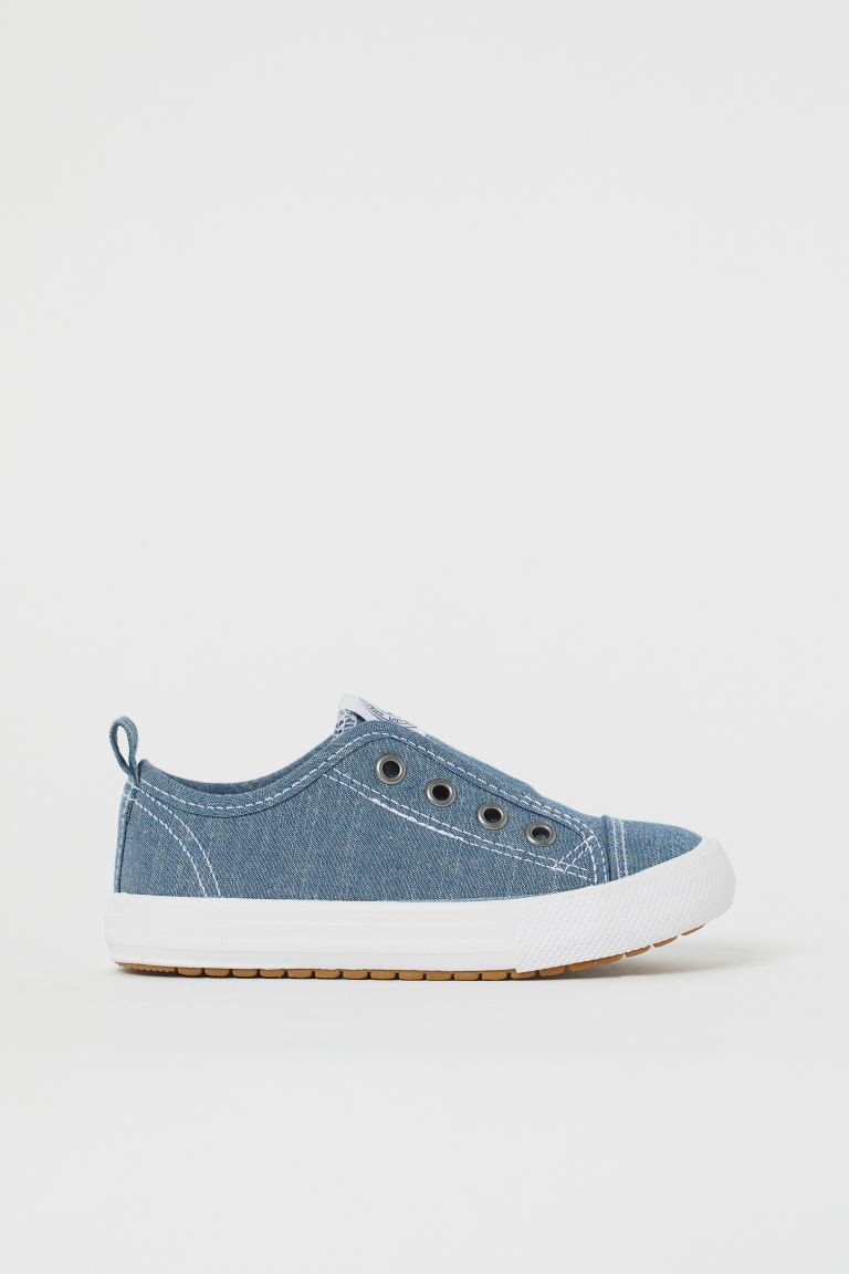 Slip-on trainers - Blue/Chambray - Kids | H&M GB