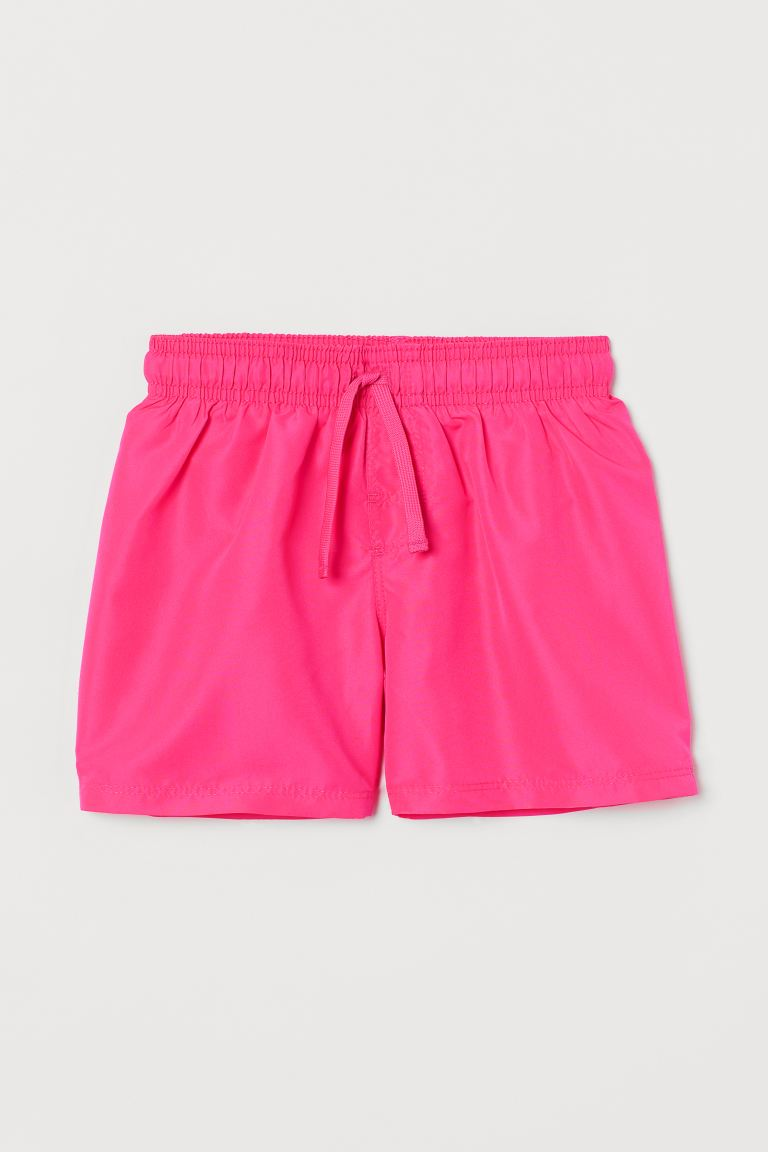 Swim shorts - Neon pink -  | H&M