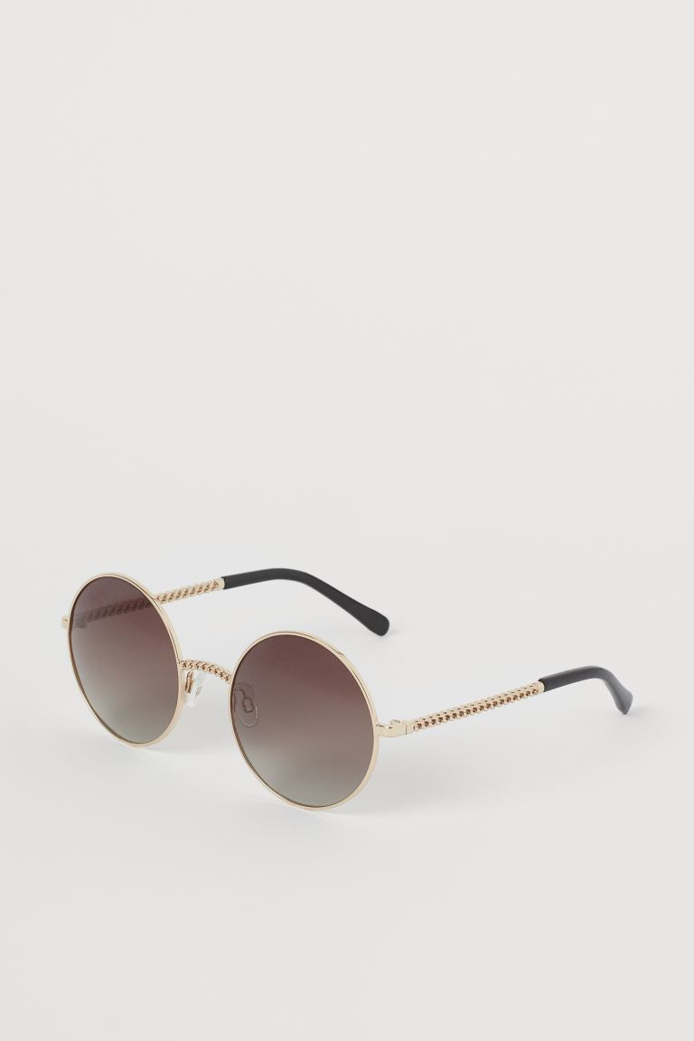 Polarized Sunglasses - Gold-colored - Ladies | H&M US