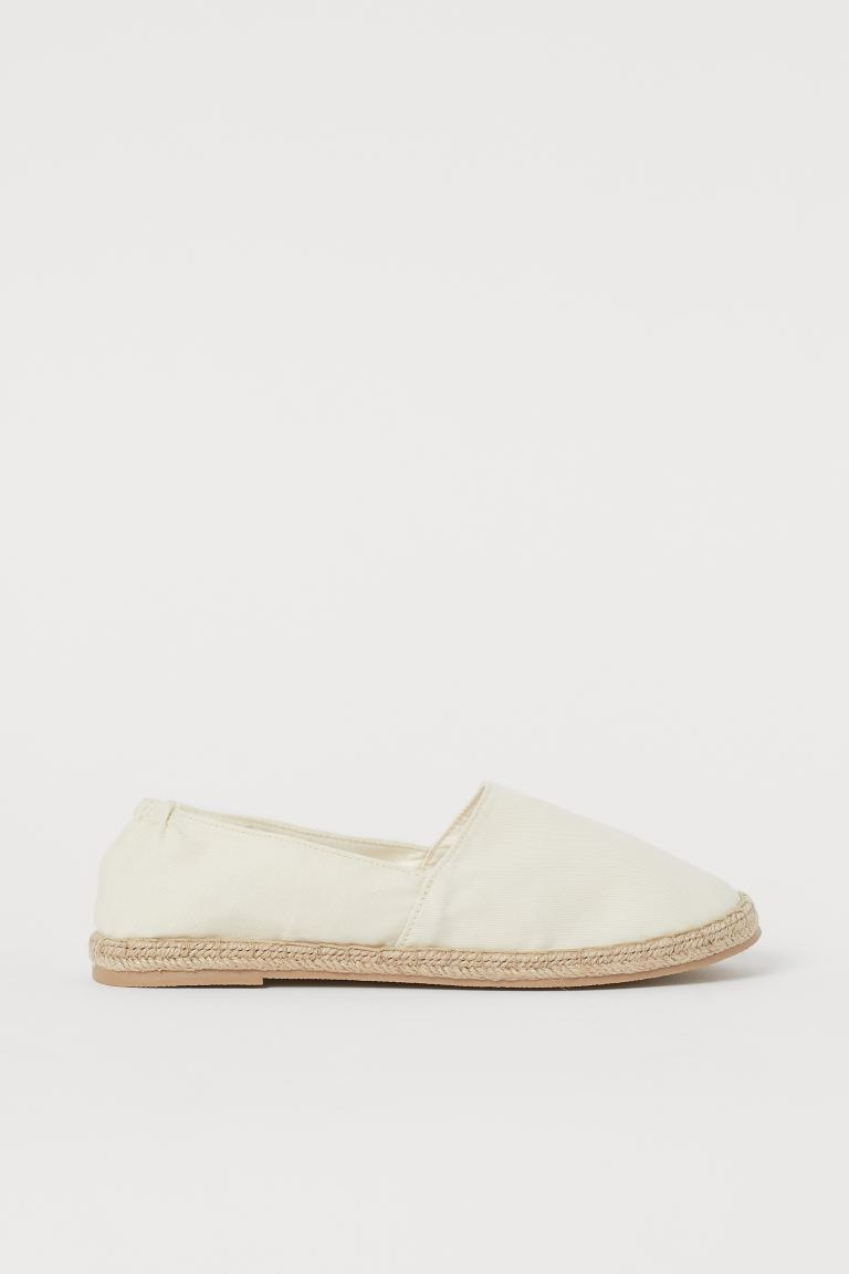 Espadrilles - Natural white - Ladies | H&M US