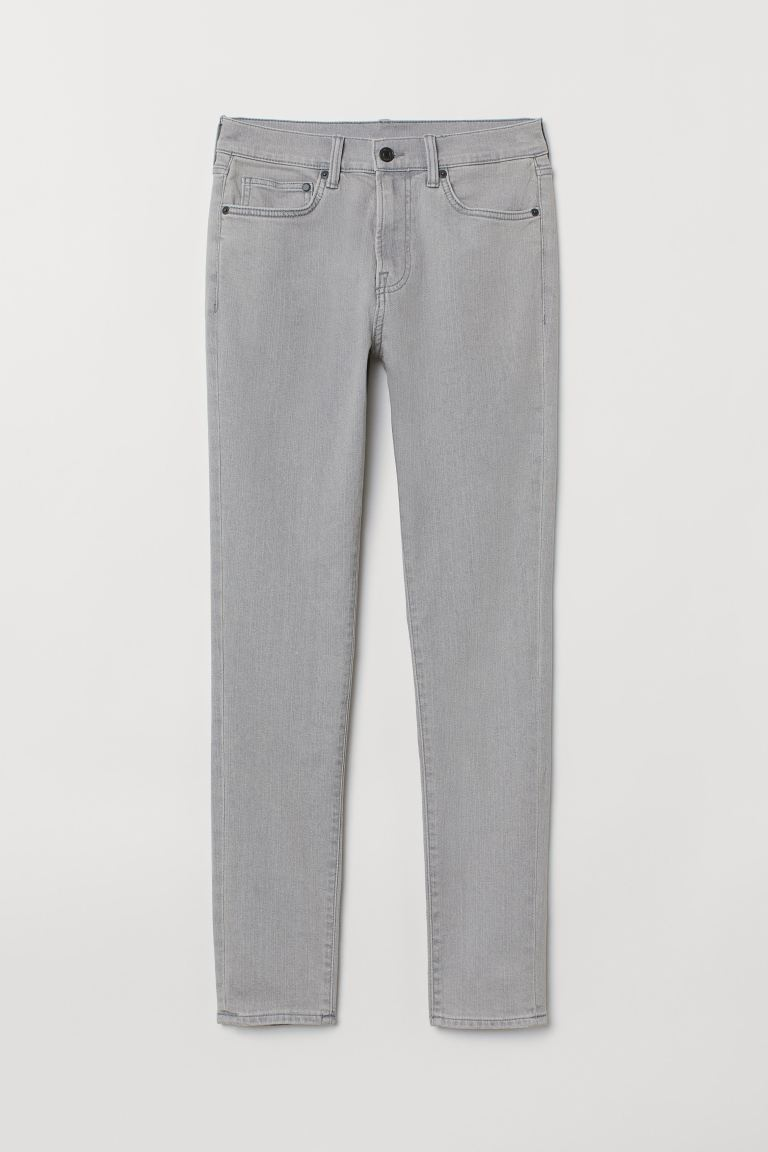 Skinny Jeans - Light grey - Men | H&M GB