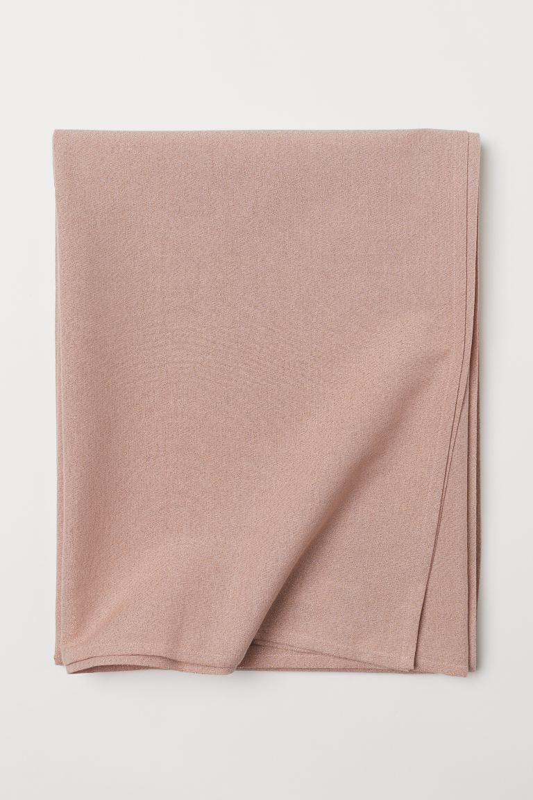 Glittery Tablecloth - Powder pink/glittery - Home All | H&M CA