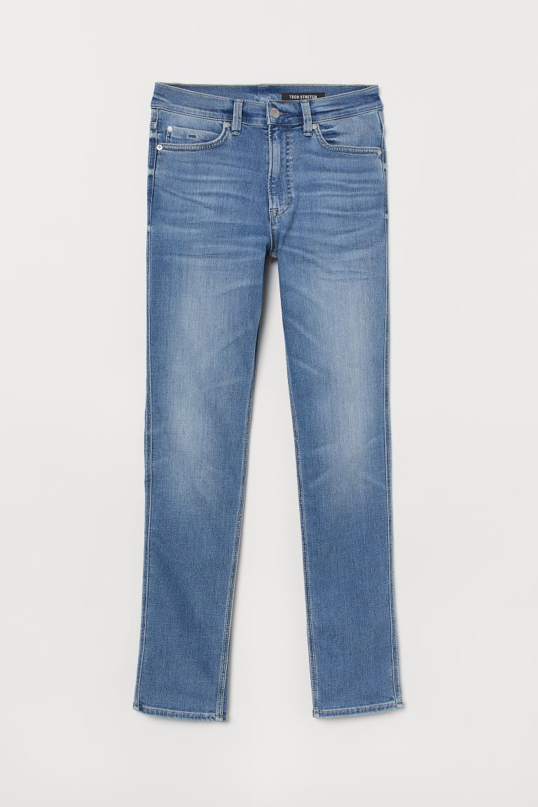 Tech Stretch Slim Jeans - Hellblau - Men | H&M DE