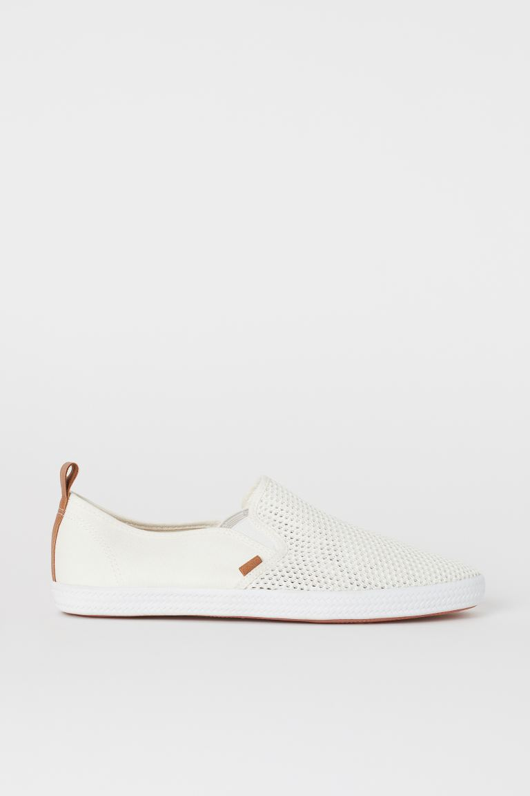 Sneakers slip-on - Bianco - UOMO | H&M IT