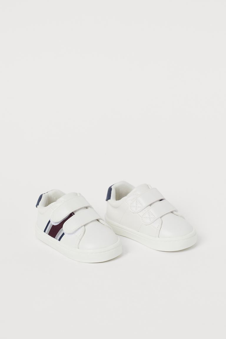 Trainers - White/Stripes - Kids | H&M
