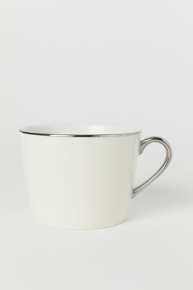 Porcelain cup - White - Home All | H&M GB