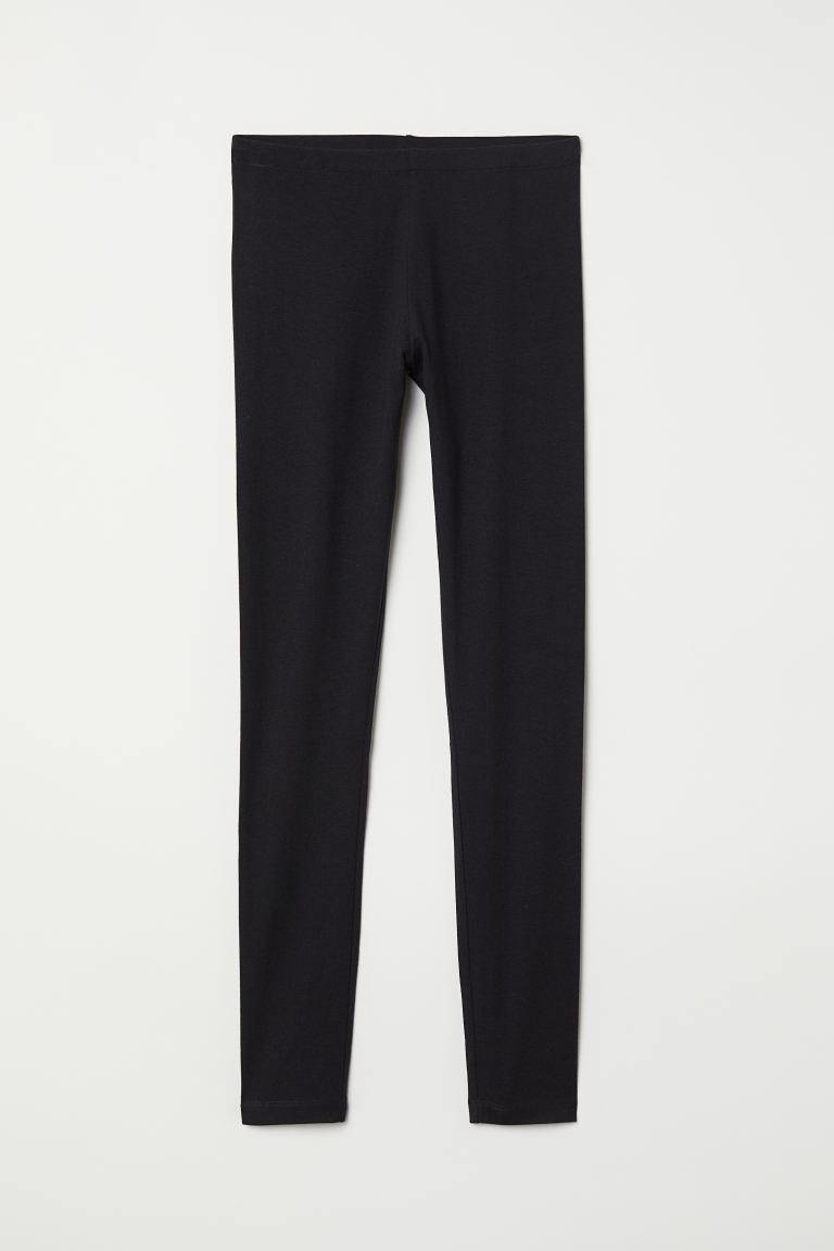 Leggings in jersey - Nero - DONNA | H&M IT
