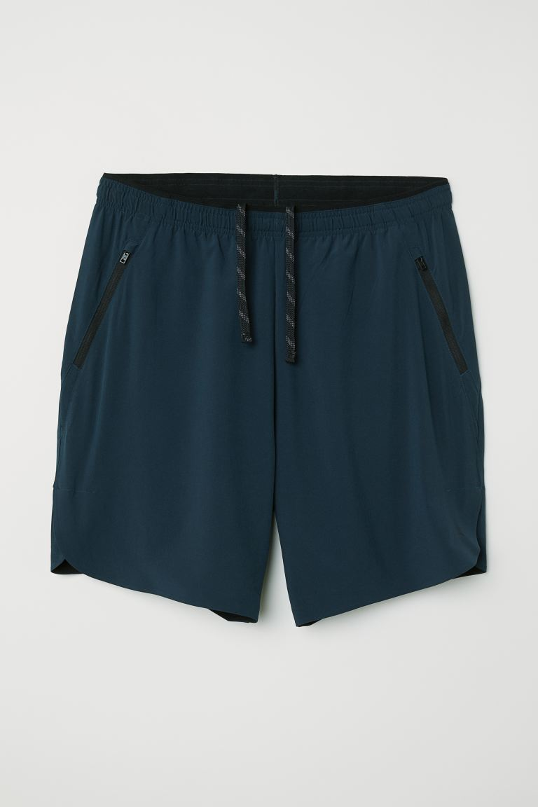 Sports shorts - Steel blue - Men | H&M