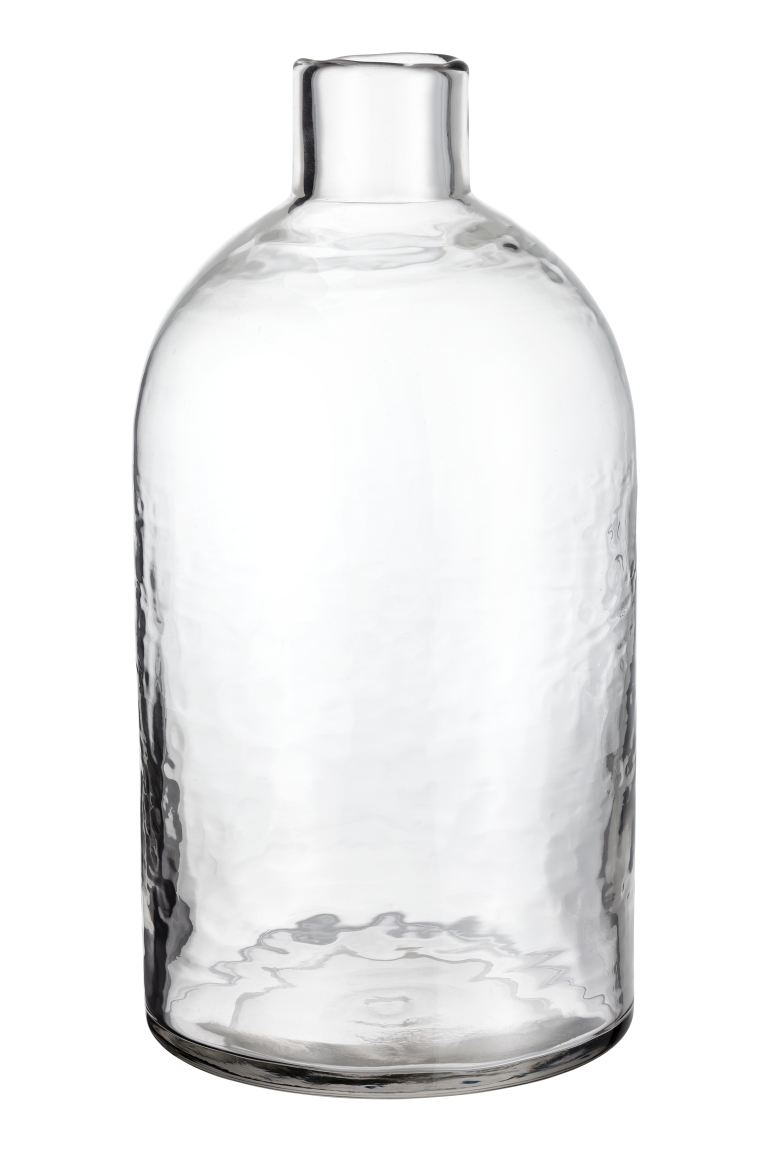 Grand vase en verre - Verre transparent - Home All | H&M CA
