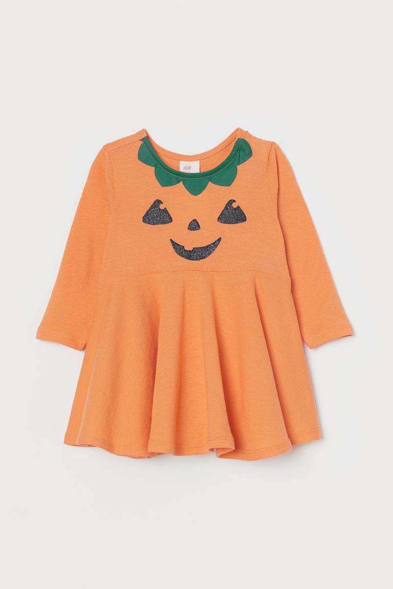 Платье из хлопкового трикотажа