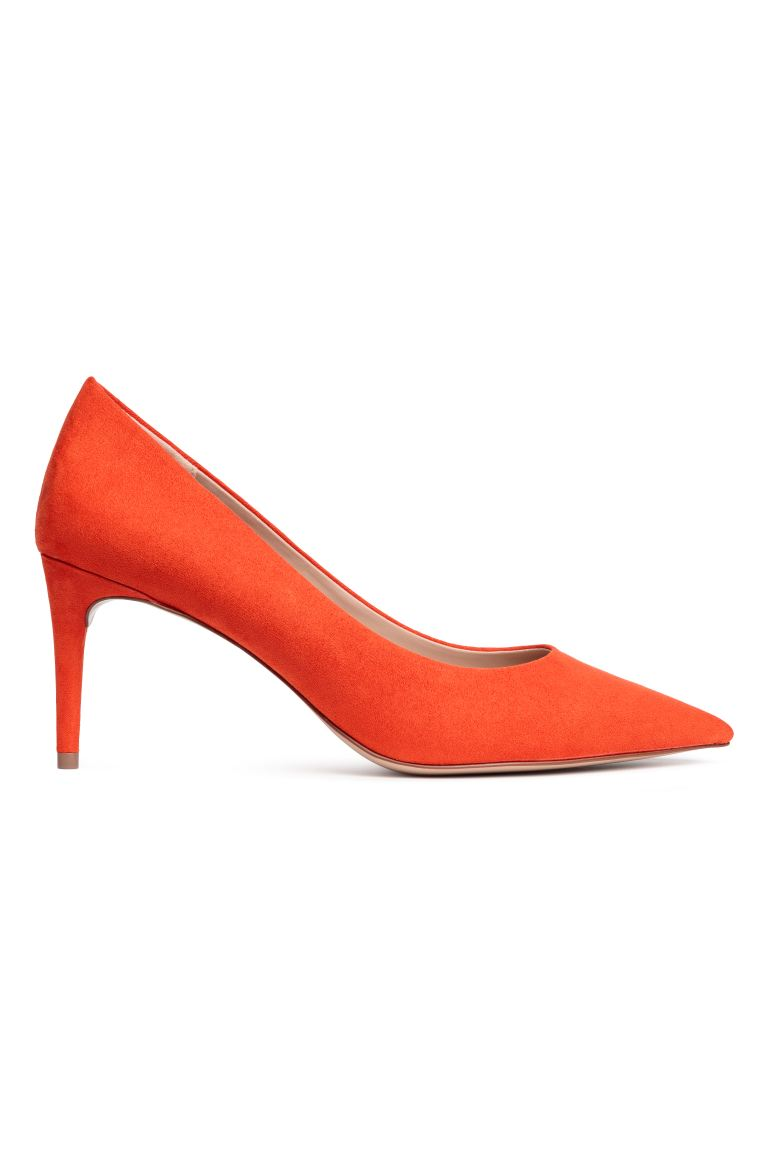 Court shoes - Orange - Ladies | H&M GB