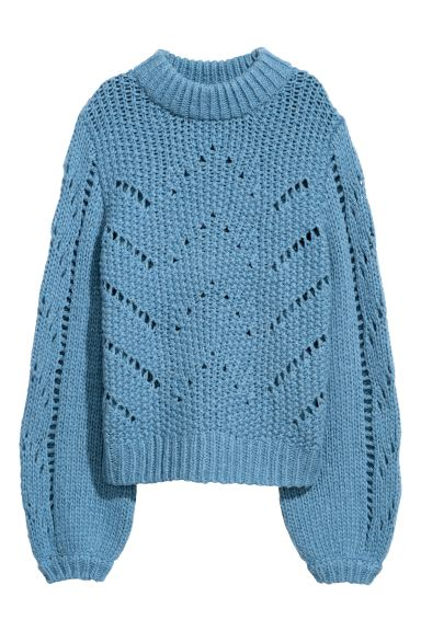 Jumper - Blue - Ladies | H&M GB
