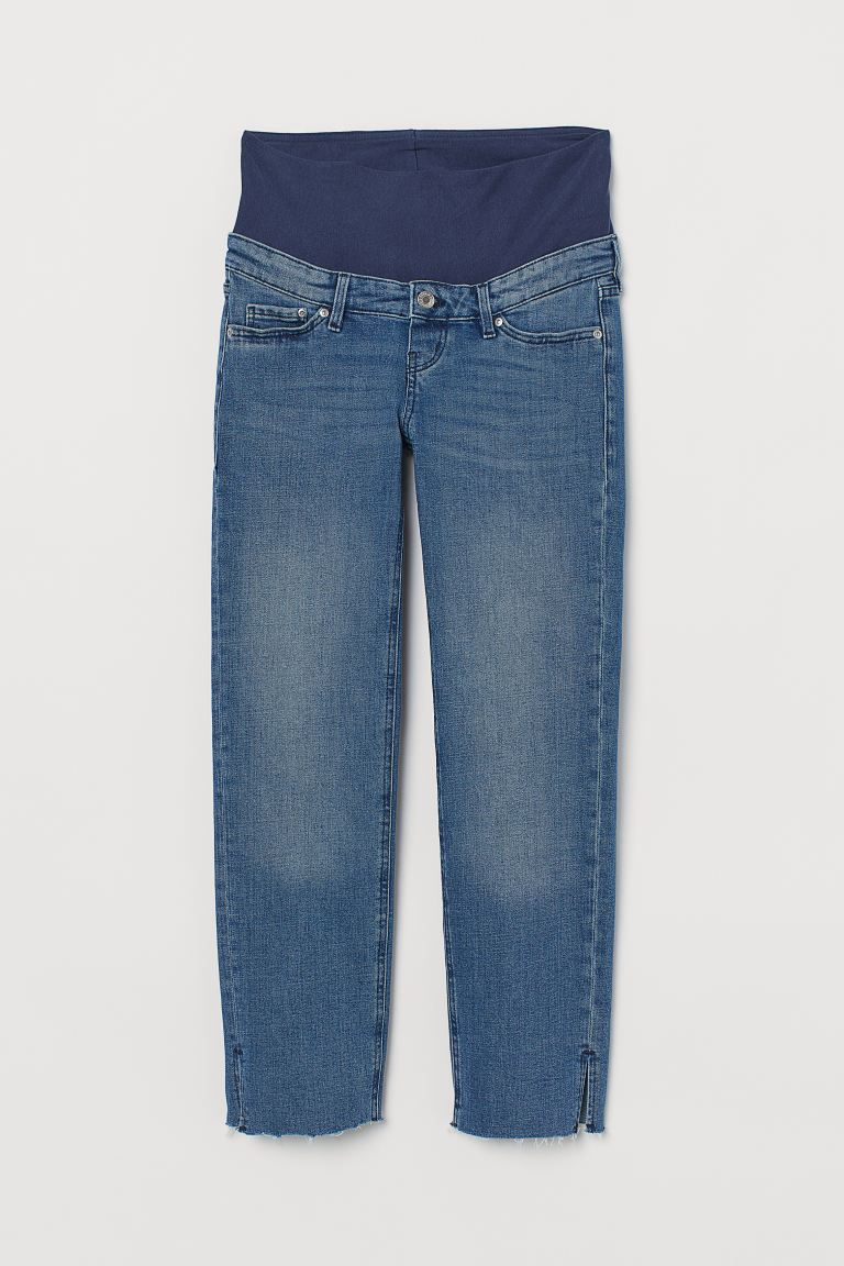 MAMA Straight Ankle Jeans - Azul denim - MUJER | H&M ES