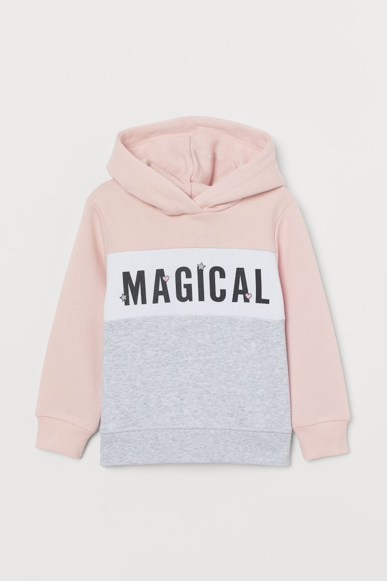 Hoodie - Light pink/Magical - Kids | H&M CA