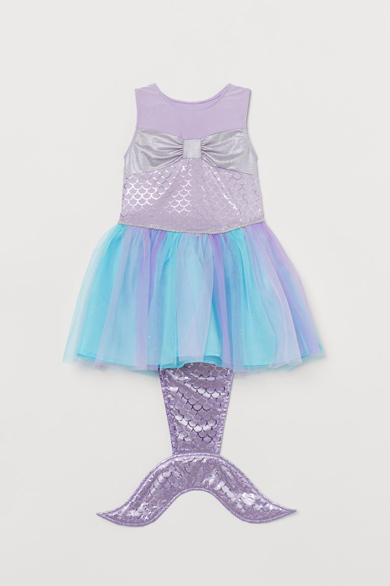 Mermaid dress - Purple/Mermaid -  | H&M