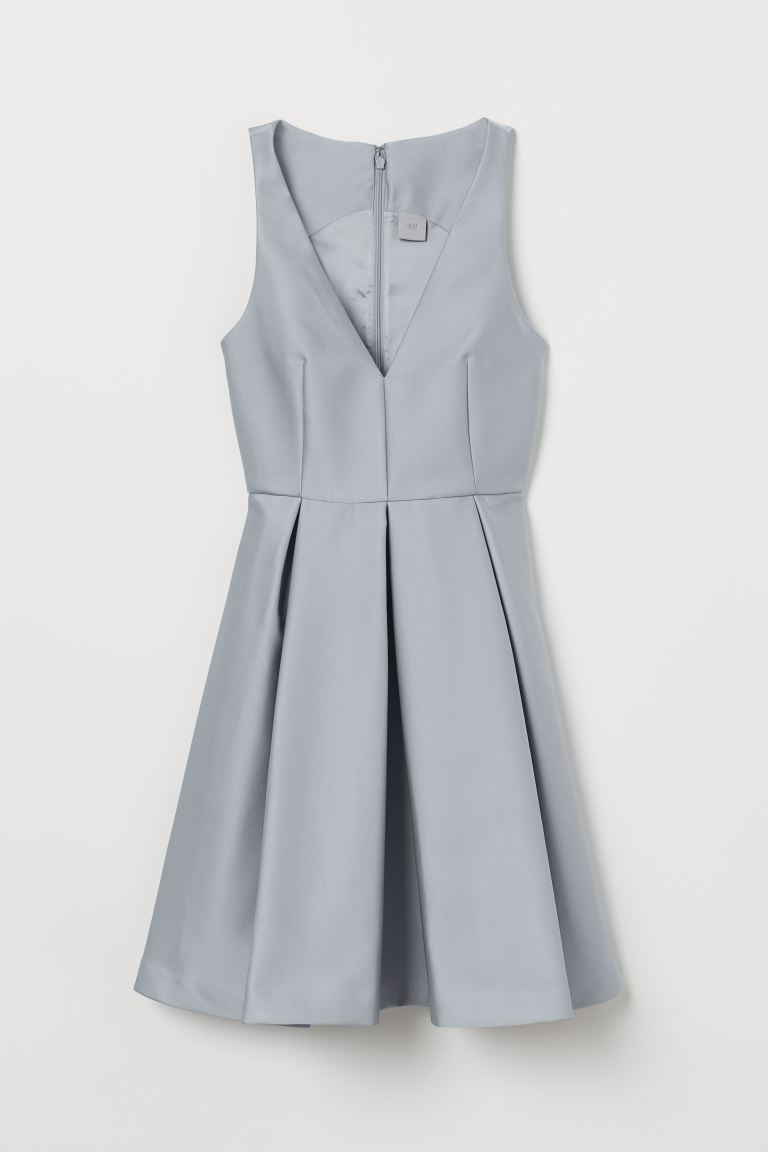 Dress with a sheen - Light turquoise - Ladies | H&M