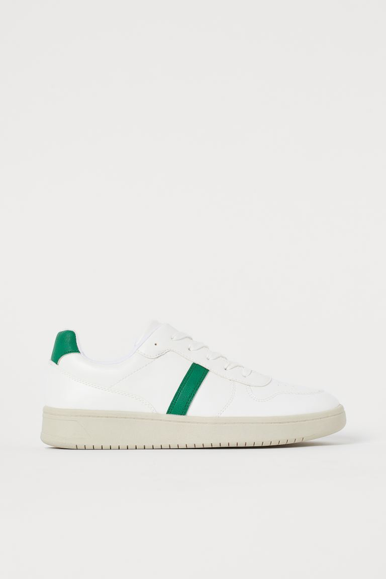 Trainers - White/Green - Ladies | H&M