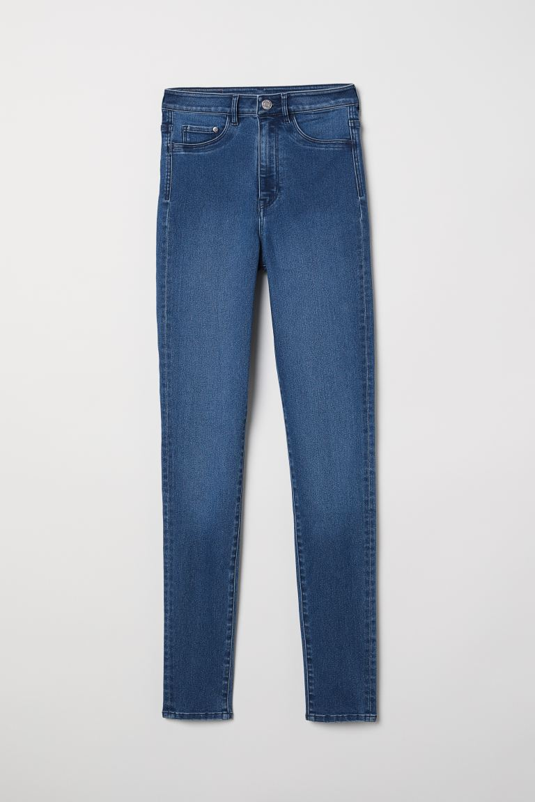 Super Skinny High Jeggings - Denim blue - Ladies | H&M IN