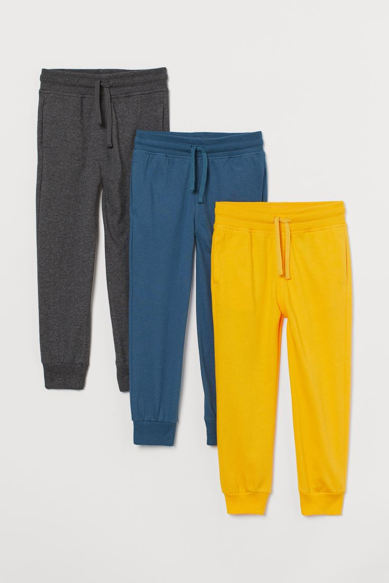 3-pack joggers