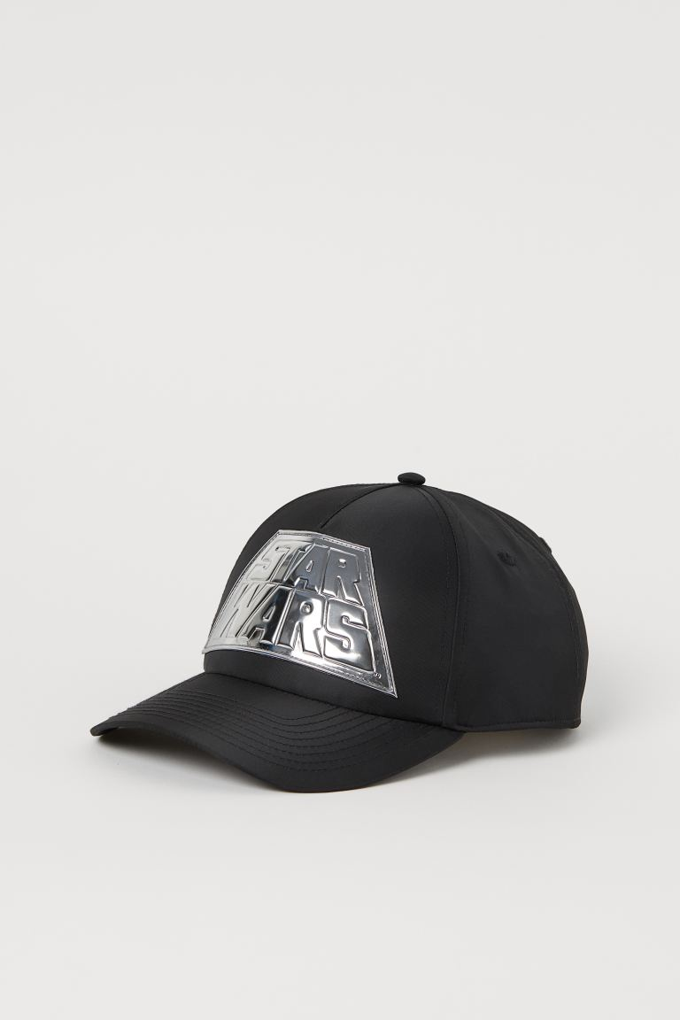 Cap with an appliqué - Black/Star Wars - Men | H&M
