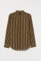 Dark beige/Black striped