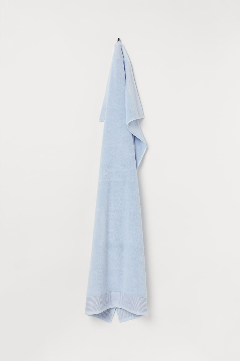 Bath sheet - Light blue - Home All | H&M GB