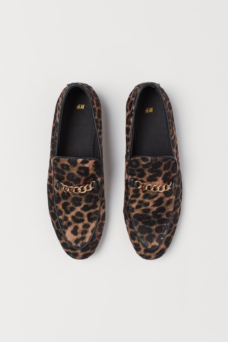 Loafer - Beige/Leopardenmuster - Men | H&M AT