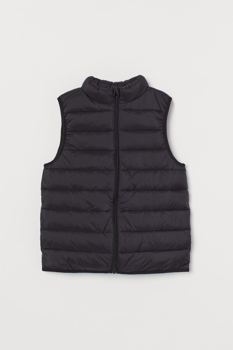 Puffer gilet - Black -  | H&M GB