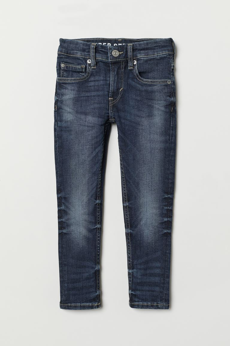 Superstretch Skinny Fit Jeans - Dunkelblau - KINDER | H&M CH