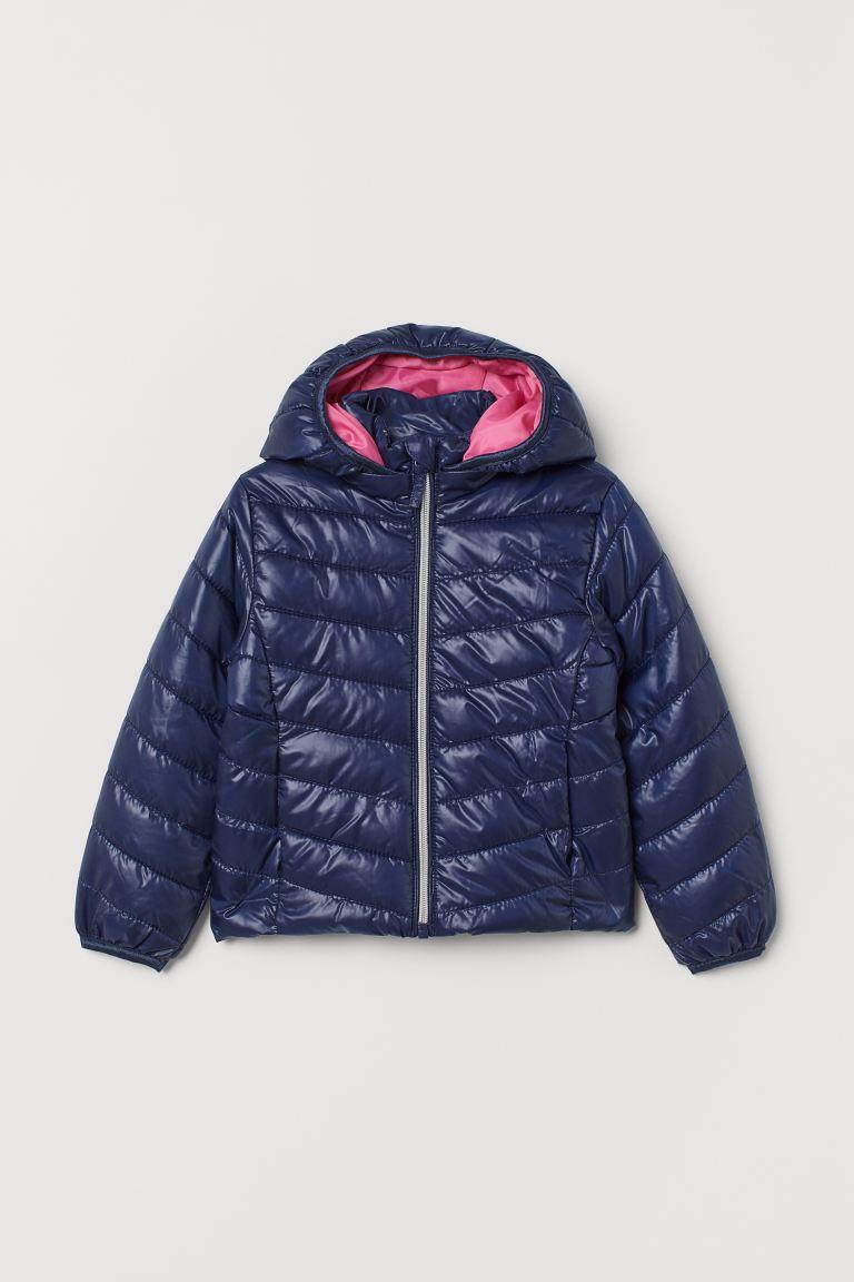 Padded lightweight jacket - Dark blue - | H&M GB