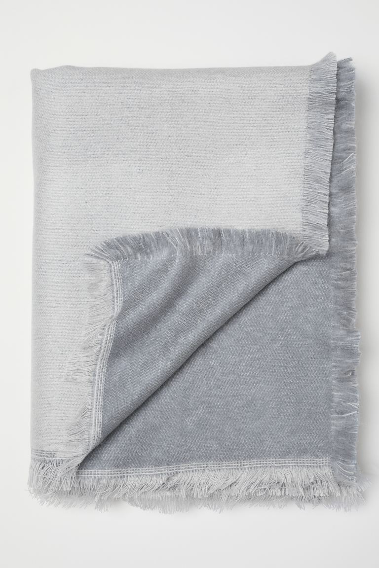 Manta suave - Gris - Home All | H&M US
