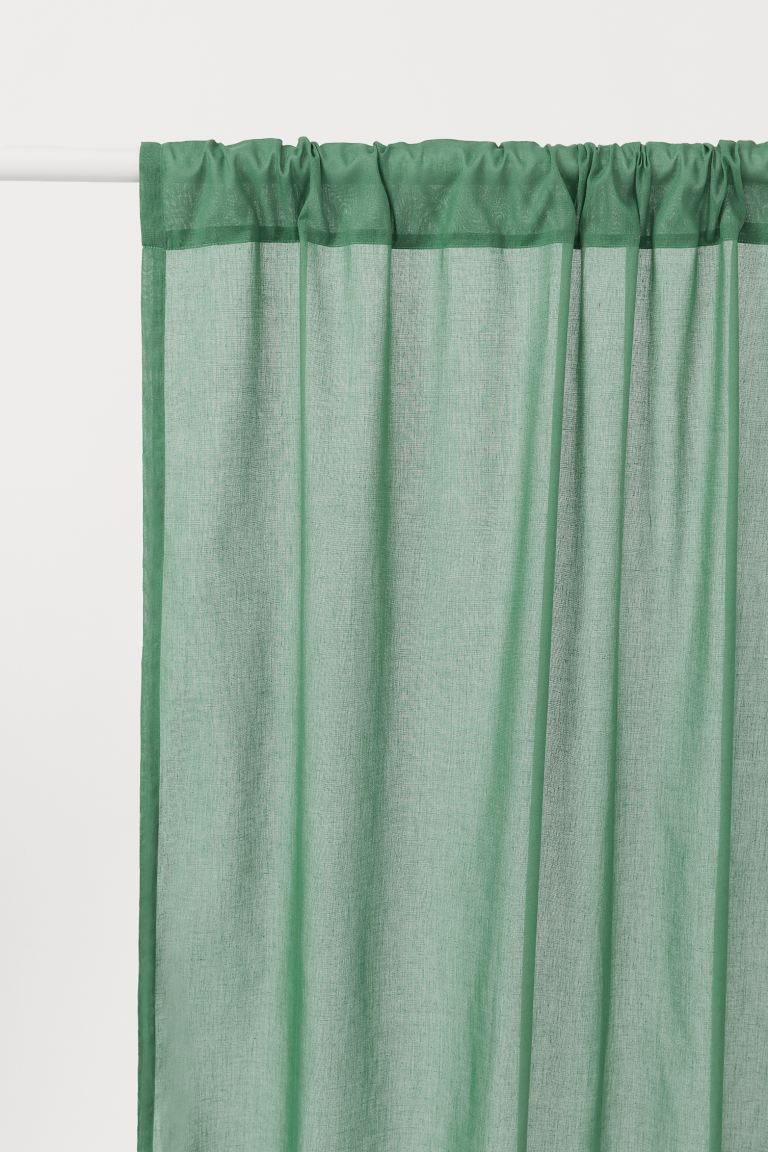 2-pack curtain lengths - Green - Home All | H&M