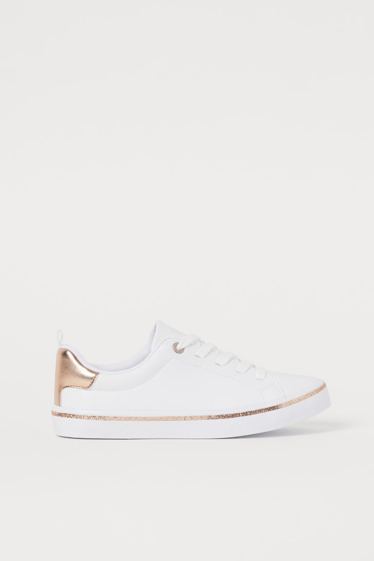 Trainers - White/Rose gold-coloured - Kids | H&M GB