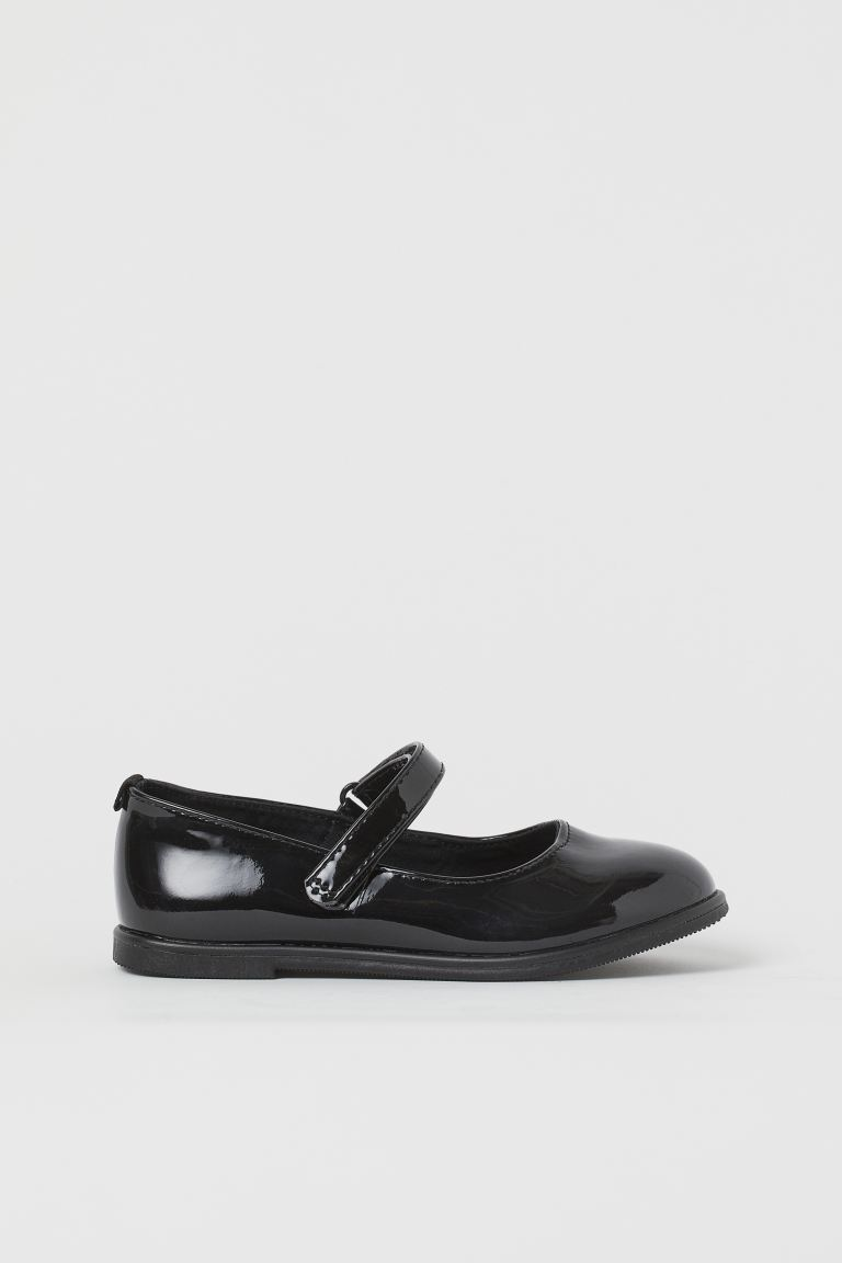 Lack-Ballerinas - Schwarz -  | H&M AT