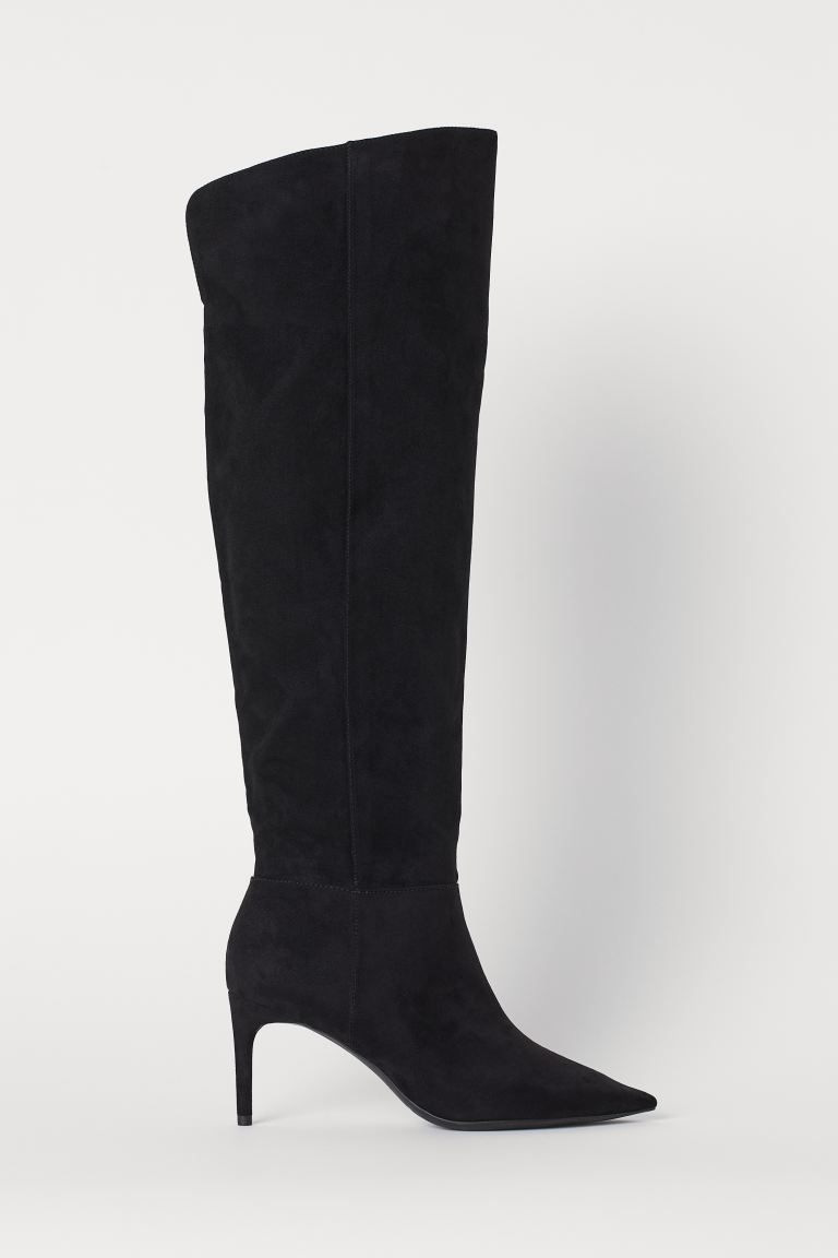 Knee-high boots - Black - Ladies | H&M IE